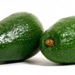 Foto de Stock  : Two avocados