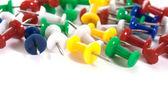 Push pins — Stock Photo
