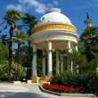 Rotunda in the souse park — Stock Photo