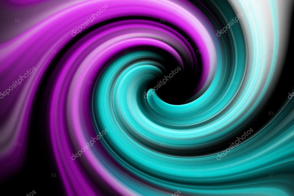 Spinning light abstract composition — Stock Photo #1499904