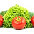 Low-calorie raw vegetables — Stock Photo