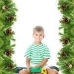 Christmas framework — Stock Photo