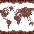 Coffee map — Stock Photo #1148213