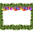 Christmas framework - Stock Photo