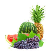Colorful healthy fresh fruit. — Stock Photo