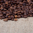 Brown roasted coffee beans — Stock Photo #1630555