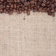 Brown roasted coffee beans. — ストック写真