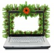 Stock Photo: Christmas framework