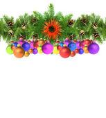 Christmas framework — Stockfoto