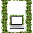 Christmas framework — Stock Photo