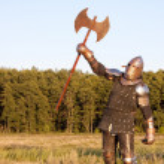 Medieval knight — Stock Photo #2084060
