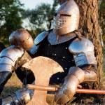 Medieval knight — Stock Photo #2084173