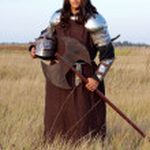 Medieval knight — Stock Photo #2084349