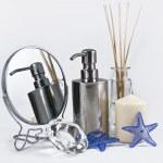 Spa Concept, set of aromatherapy — Stock Photo #1364414