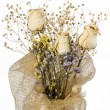 Bunch of Dried Flowers — Stock Photo #2197345