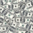 Dollars seamless background. - Stock Photo