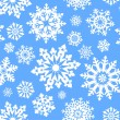 Snowflake seamless pattern. — Stock Vector