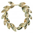 Bronzed laurel wreath. — Stock Photo #1116605