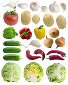 Vegetables set. — Stock Photo