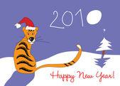 新年快乐 2010! — 图库矢量图片