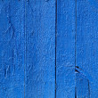 Royalty-Free Stock Photo: Blue wooden fence.