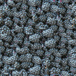 Blackberry seamless background. - Stock Photo