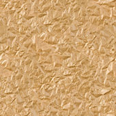Brown wrinkled paper seamless background — Stock Photo