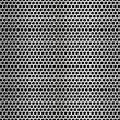 Metal net seamless texture background. — Stock Vector