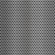 Stock Vector: Metal net seamless texture background.