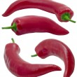 Red hot chilli peppers. — Stock Photo