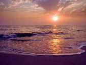 Alba sul mare. — Foto Stock