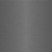 Perforated metal seamless background. — Stockfoto