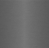 Perforované kovové bezešvé pozadí. — Stock fotografie