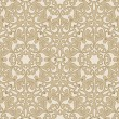 Arabic floral seamless background. — Vettoriale Stock
