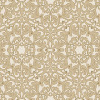 Arabic floral seamless background. — Vettoriale Stock #1178738