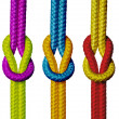 Royalty-Free Stock Photo: Varicolored ropes.