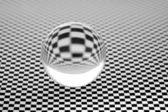 Glassy ball. — Stock Photo