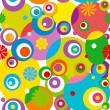 Abstract circle seamless pattern. — Stock Vector #1207805