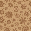 Royalty-Free Stock Photo: Seamless pattern with snowflake.