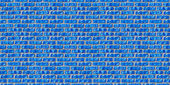 Blue brickwork seamless pattern. — Stock Photo