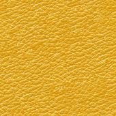 Yellow leather seamless background. — Stock Photo