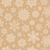 Seamless pattern with snowflake. — Stock Photo