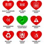 标准的心 — 图库矢量图片