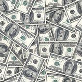 Dollars seamless background. — Stock Photo