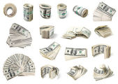 Dollars set. — Stock Photo
