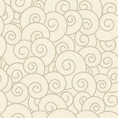 らせんのシームレスなパターン. — ストックベクタ