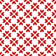 Hearts seamless pattern. - Stock vektor
