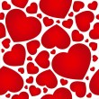 Royalty-Free Stock Vector Image: Heart seamless background.