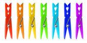 Clothespins. — Stock Photo