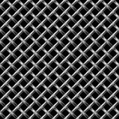 Metall net seamless pattern. — Vector de stock
